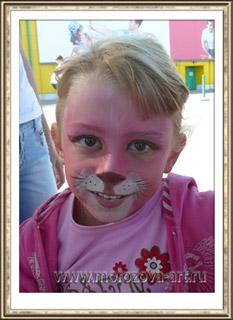 Мышонок детский аквагрим на вашем